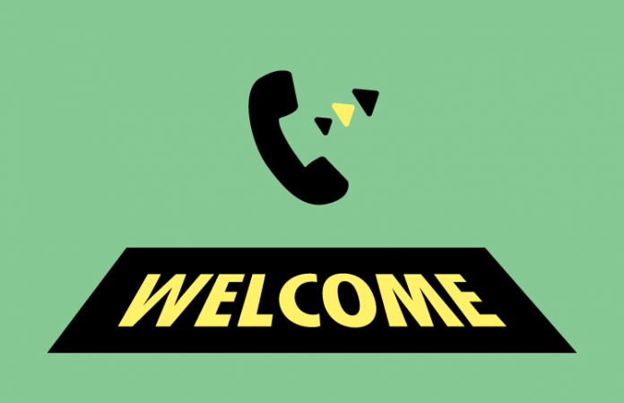The Contact Center Outbound Welcome Call