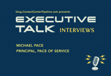 Video Interview Contact Center Pipeline's Linda Harden sits down with Michael Pace, Principal, Pace of Service at the 2015 NECCF Vendor Forum.