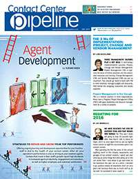 Contact Center Pipeline December 2015 Cover