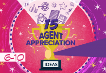 15 ideas for contact center management showing their agents appreciation