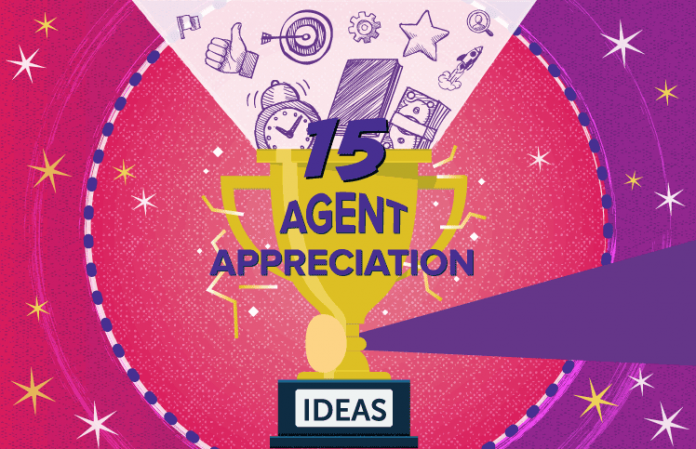 15 ideas for showing call center agent appreciation
