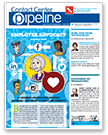 Contact Center Pipeline April Issue Cover