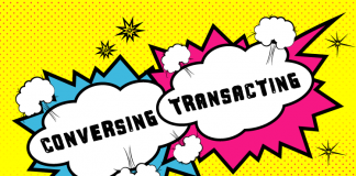 Conversing or Transacting in the Contact Center