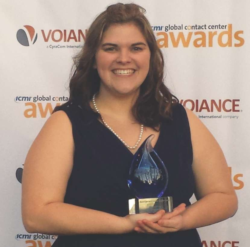 Nicole Berry, 2016 Best Contact Center Supervisor Award Winner
