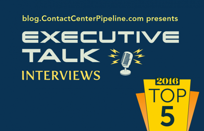Top 5 Contact Center Interviews for 2016