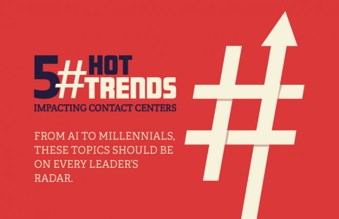 5 Hot Contact Center Trends