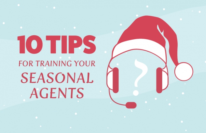Training your seasonal contact center agents