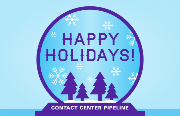 Happy Holidays from Contact Center Pipeline