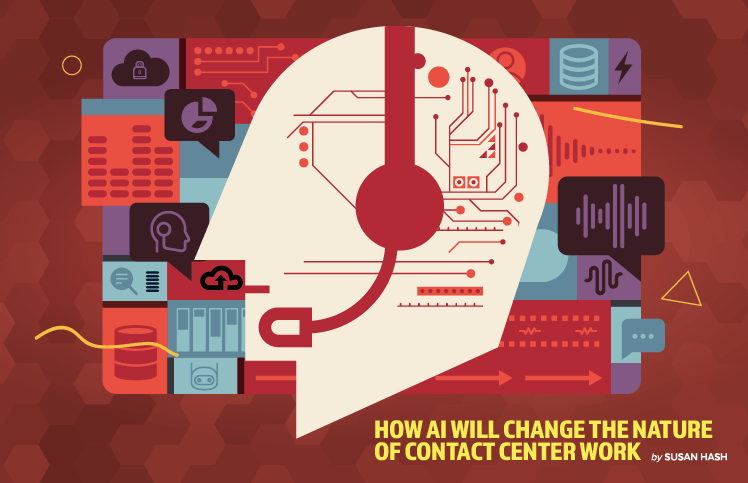 How AI Will Change the Nature of Contact Center Work