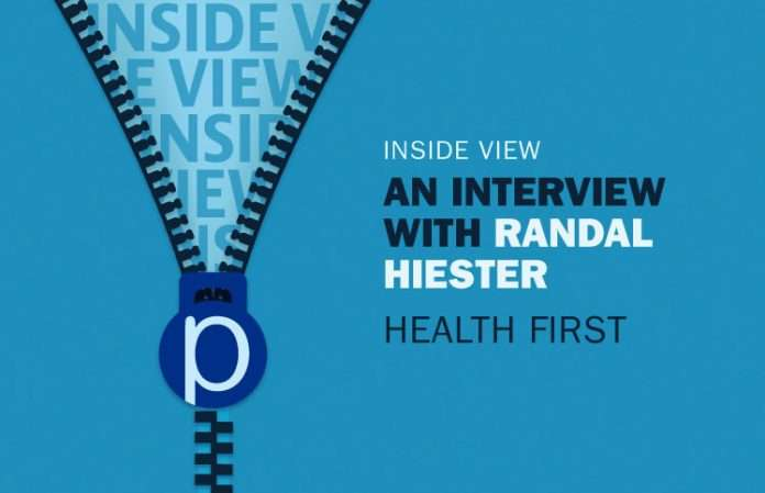 Inside View: Randal Hiester, Health First