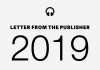 2019 Letter from the Publisher