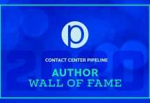 Contact Center Pipeline Author Wall of Fame