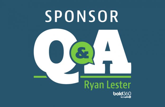 Ryan Lester, LogMeIn, Sponsor Q&A