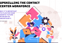 Upskilling the Contact Center Workforce witih TItle